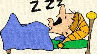 tidur dalam bahasa inggris