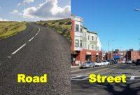 perbedaan street dan road