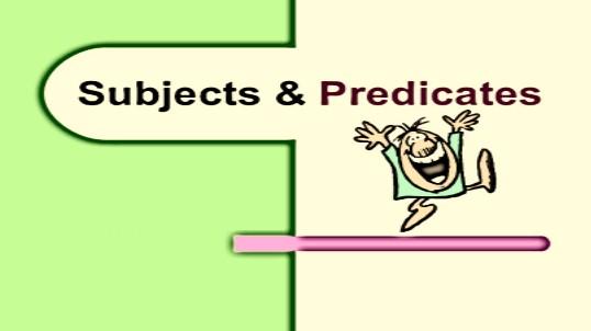 contoh arti predicate