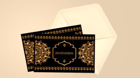 undangan dalam bahasa inggris